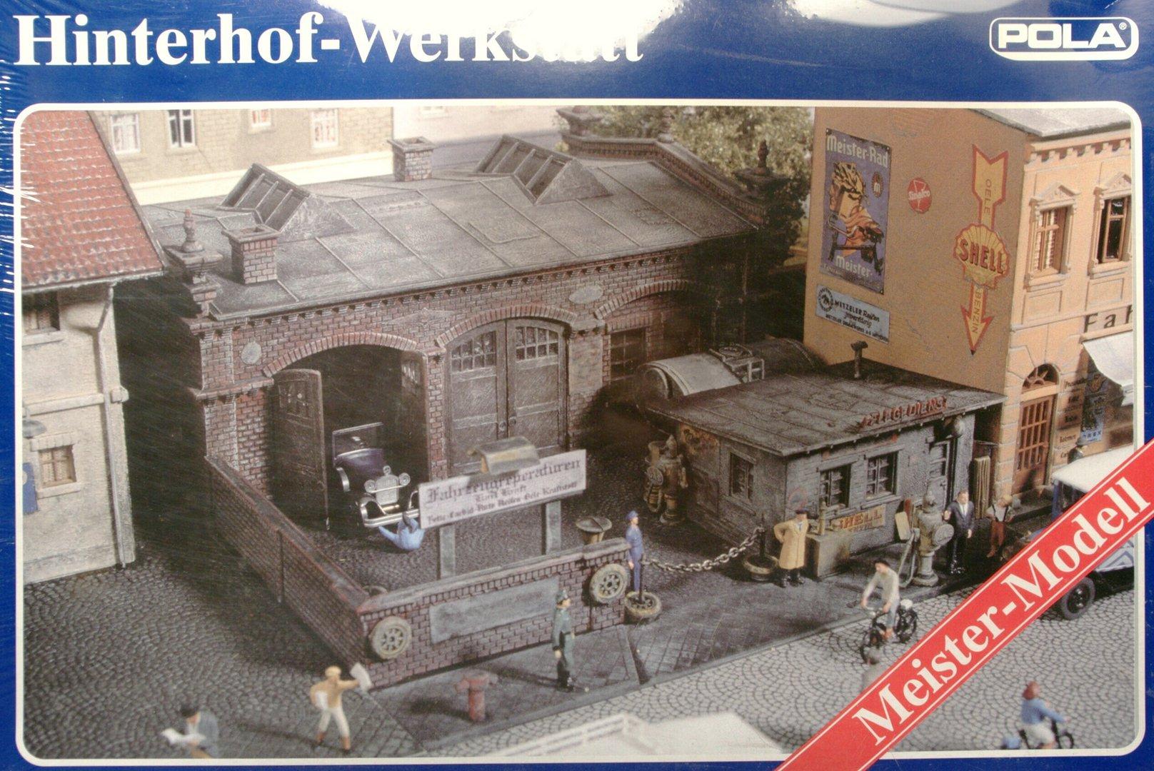 Hinterhof Werkstatt